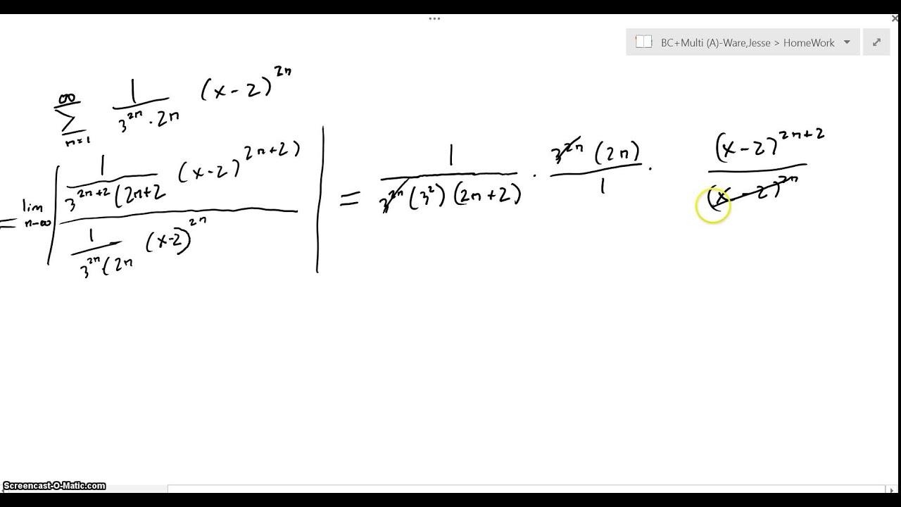 AP Calculus BC: 2005 #6 - YouTube