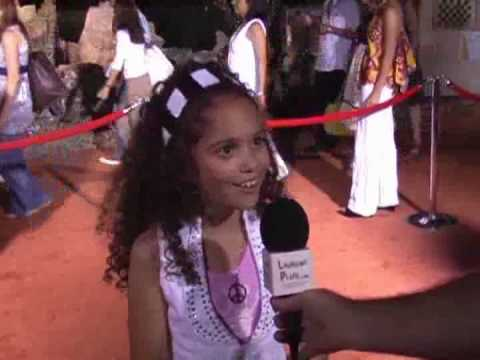 INTERVIEW with Madison Pettis at the Wall-E Premiere