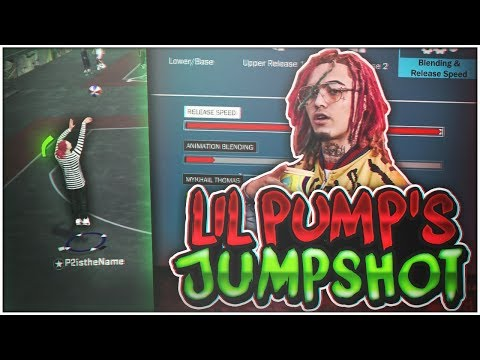 SHOOTING WITH LIL PUMP'S IRL JUMPSHOT ON NBA 2K18! MOST LEGENDARY CUSTOM JUMPSHOT EVER!