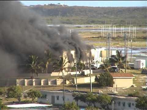 Fire at Grand Turk power plant (Caribbean) 19 Feb 2011