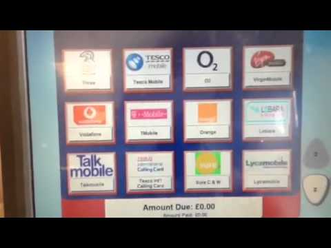 [Giffgaff] Buy Top-up Voucher At Tesco's Self-checkout