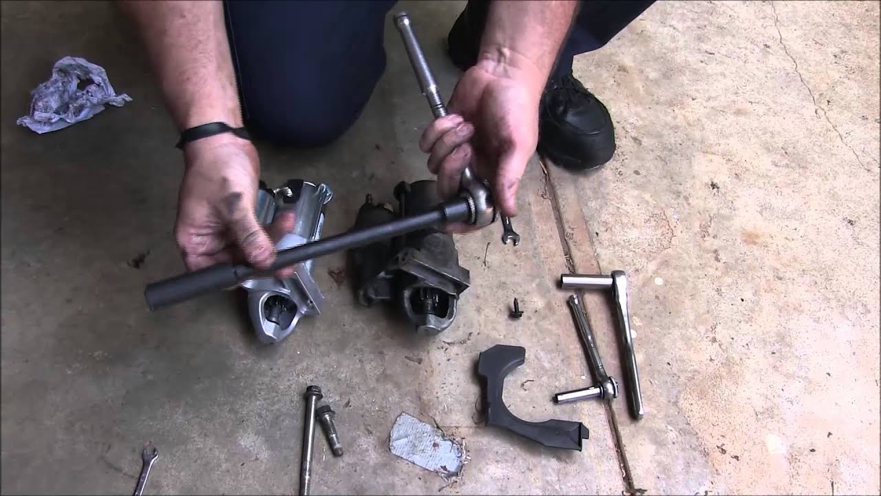 hight resolution of how to replace a starter in a 2005 buick rendezvous