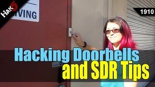 Hacking Wireless Doorbells and Software Defined Radio tips - Hak5 1910