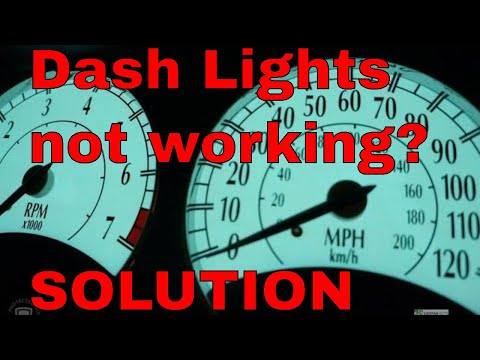 Chrysler Sebring Cluster Lighting Repair 1997 To 2004