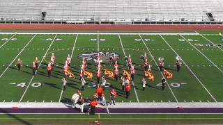 Orangefield High School Band 2013 - UIL Region 10 Marching Contest