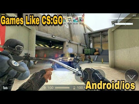 Top 10 Games Like CS:GO On Android & IOS   Free FPS Games  