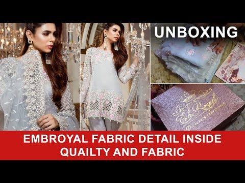 e039b0a2ac Emb Royal Gentel Baroness 07 2017 Unboxing Pure Chiffon and Net Dupatta - Pakistani  Branded Dresses
