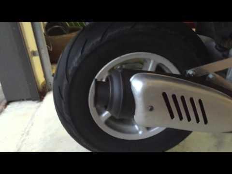 Yamaha Zuma 70cc stage6 street exhaust sound clip