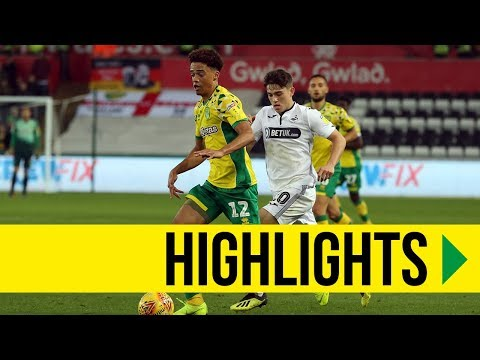 HIGHLIGHTS: Swansea City 1-4 Norwich City