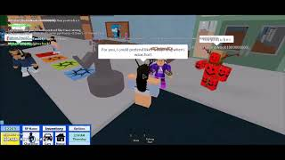 Roblox Song Lyric Prank (Fake Love by BTS)