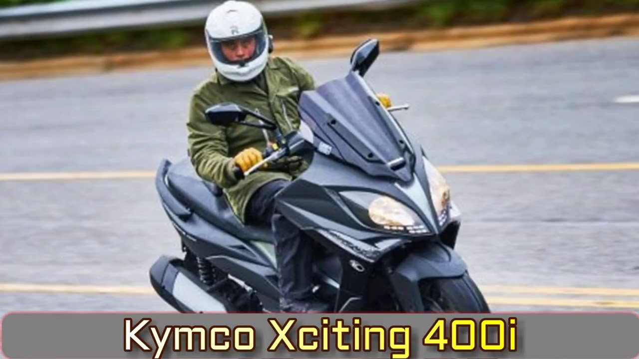 2018 Kymco Xciting 400i Review – First Ride