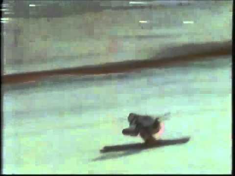 Jahorina 16.02.1984. /spust žene/