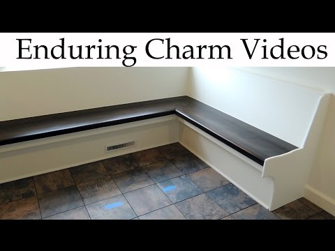 How To Build Custom Kitchen Bench Seating