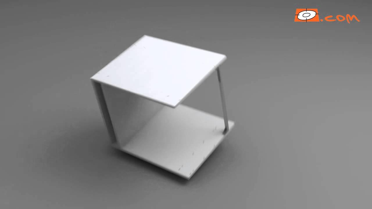 montage meuble bas pour four de 60 cm