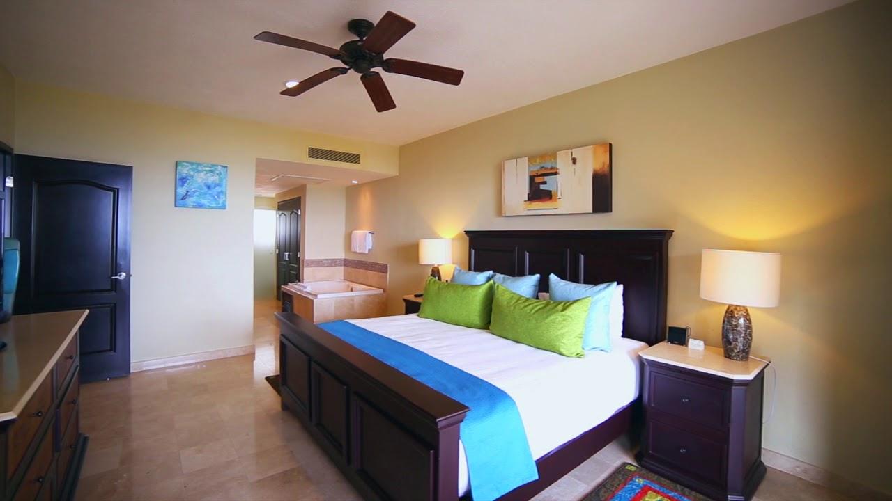 Villa Del Palmar Cancun One Bedroom Suite Youtube