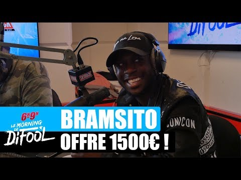 Youtube: Bramsito offre 1500€ à une auditrice ! #MorningDeDifool