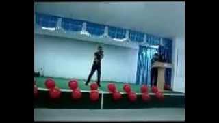 mc mikol видео отсчет концерта в школле Сарыкемер