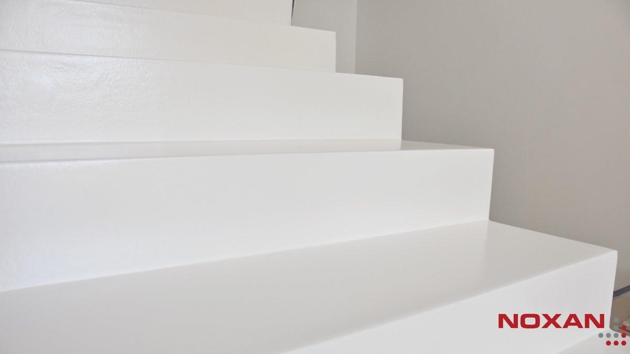 Niesamowite Białe schody z żywicy - Jak wykonać? - YouTube YB84