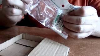 Термоклей для монтажа светодиодов(Теплопроводящий клей для монтажа светодиодов. Распаковка. Покупал здесь: http://ali.pub/xw6bn., 2016-03-23T17:16:24.000Z)