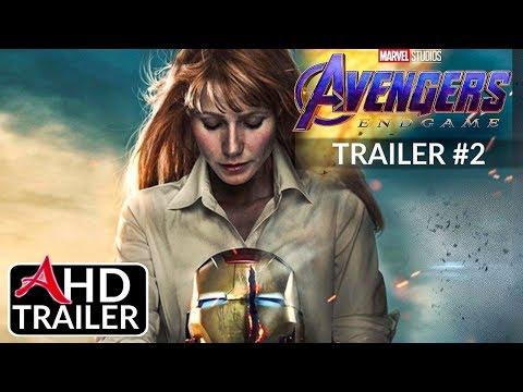 Avengers 4: ENDGAME -TRAILER #2 - Josh Brolin, Brie Larson Film (CONCEPT)