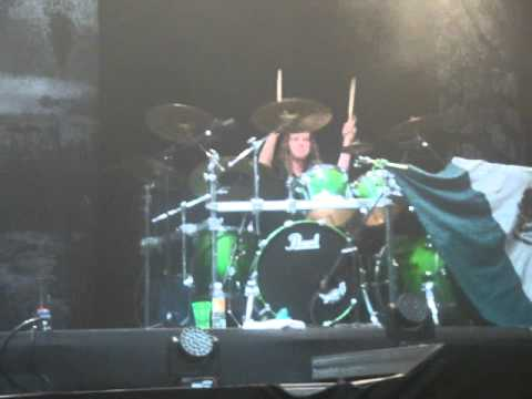 EPICA  DRUM SOLO ARIEN VAN WEESENBEEK  MEXICO 5 OCT  2012