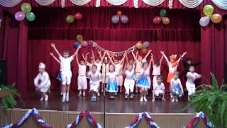 """Первый танец 1 """"В"""" класса"""