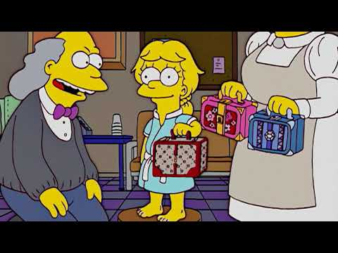 The president wore pearls 2/5 song (Beautiful Lisa - Simpsons Soundtrack)