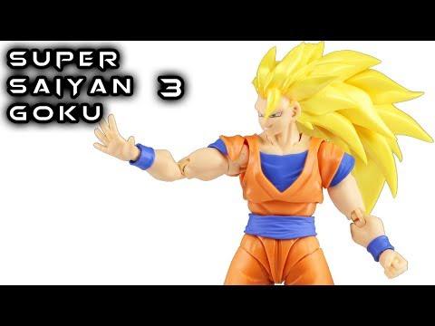S.H. Figuarts SUPER SAIYAN 3 SON GOKU Action Figure Toy Review