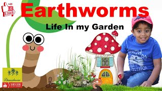 What Do #Earthworms Eat? How Do Earthworms Help The Soil | Educational Video for Kids wit Aneeshwar|