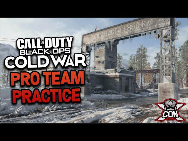 XCON GAMING-Call of Duty: Cold War Pro Team Practice