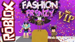 "ROBLOX: FASHION FRENZY - Nous donnons ""T"" peur"