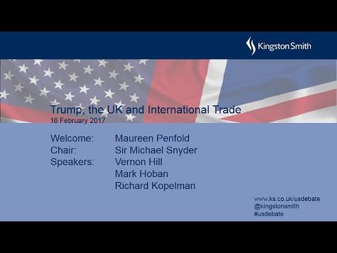 Trump, the UK and International Trade