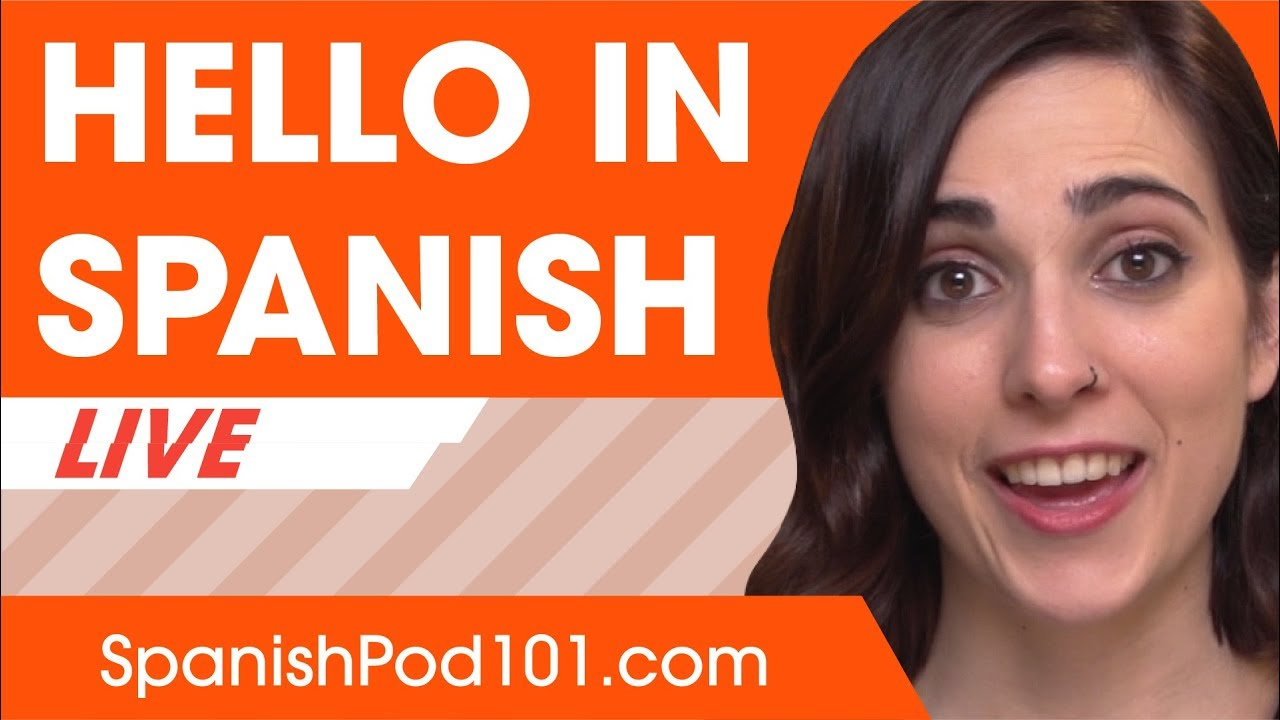 How to Say Hello in Spanish - Basic Spanish Phrases - YouTube