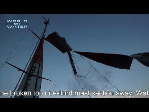 World on Water April 05 15 Global Sailing News Broken Masts, Record Fleets more