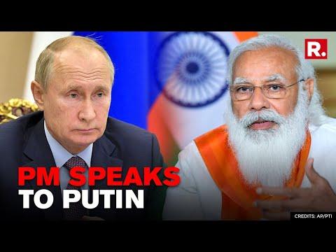 PM Modi Speaks To Russian President Vladimir Putin For 45 Minutes On Afghan Crisis | Republic TV