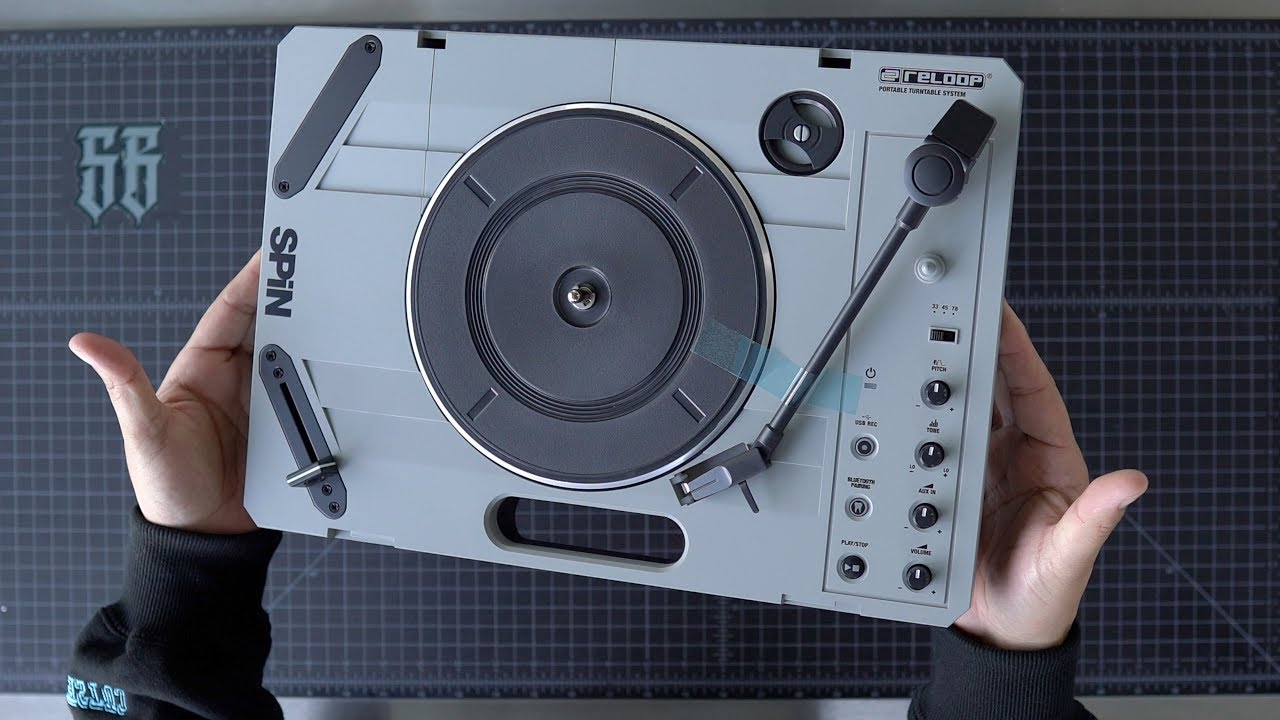 Portable 7″ Turntables for Scratching – Studio Scratches