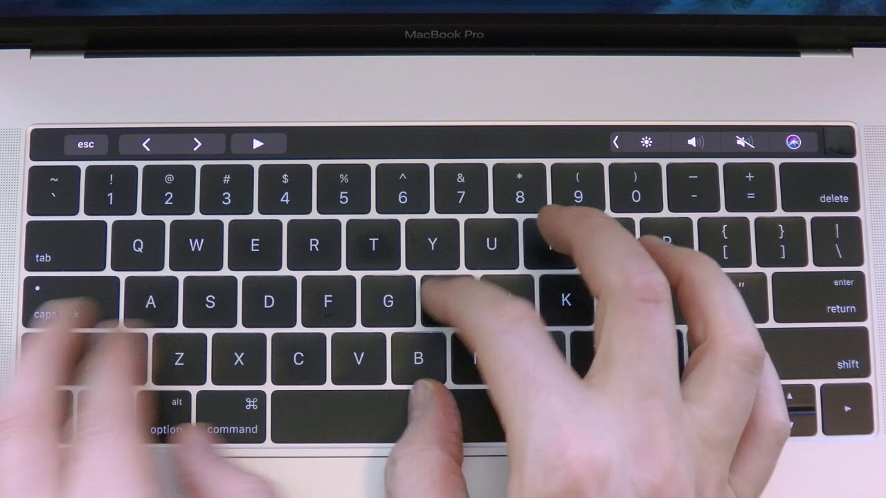 Haptic Touch Bar app - tactile and sound feedback for your MacBook