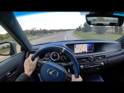2019 Lexus GS F 10th Anniversary Edition - POV Review