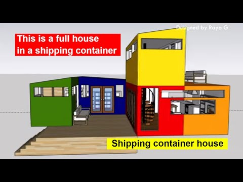 Shipping container house – Shipping Containers Turn Into Amazing Compact Home