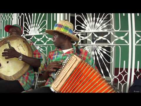 Jing Ping band on Creole Day 2010, Roseau, Dominica