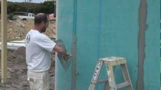 Blue Board Joints - How To Flush Join Blue Board.