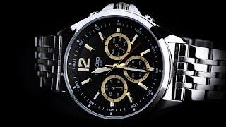 Review đồng hồ Casio MTP-E303D-1AVDF 3 ô chức năng lịch tạo nên kiểu dáng 6 kim độc đáo