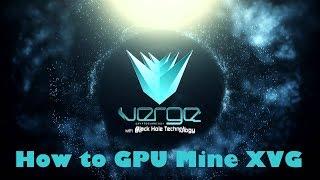 How to GPU Mine Verge Coin - XVG - x17 - NVIDIA - Yiimp - Crypto Currency Mining