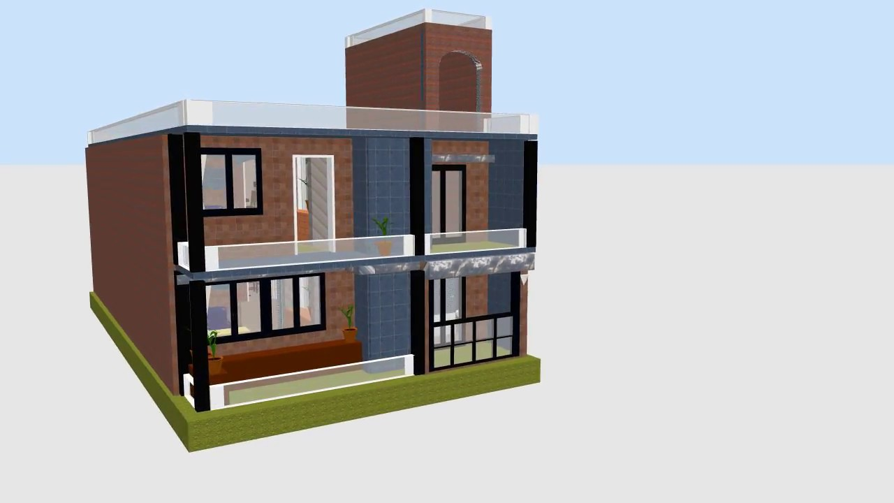 25x50 house design 25x50 video by build for House plan for 20x40 site