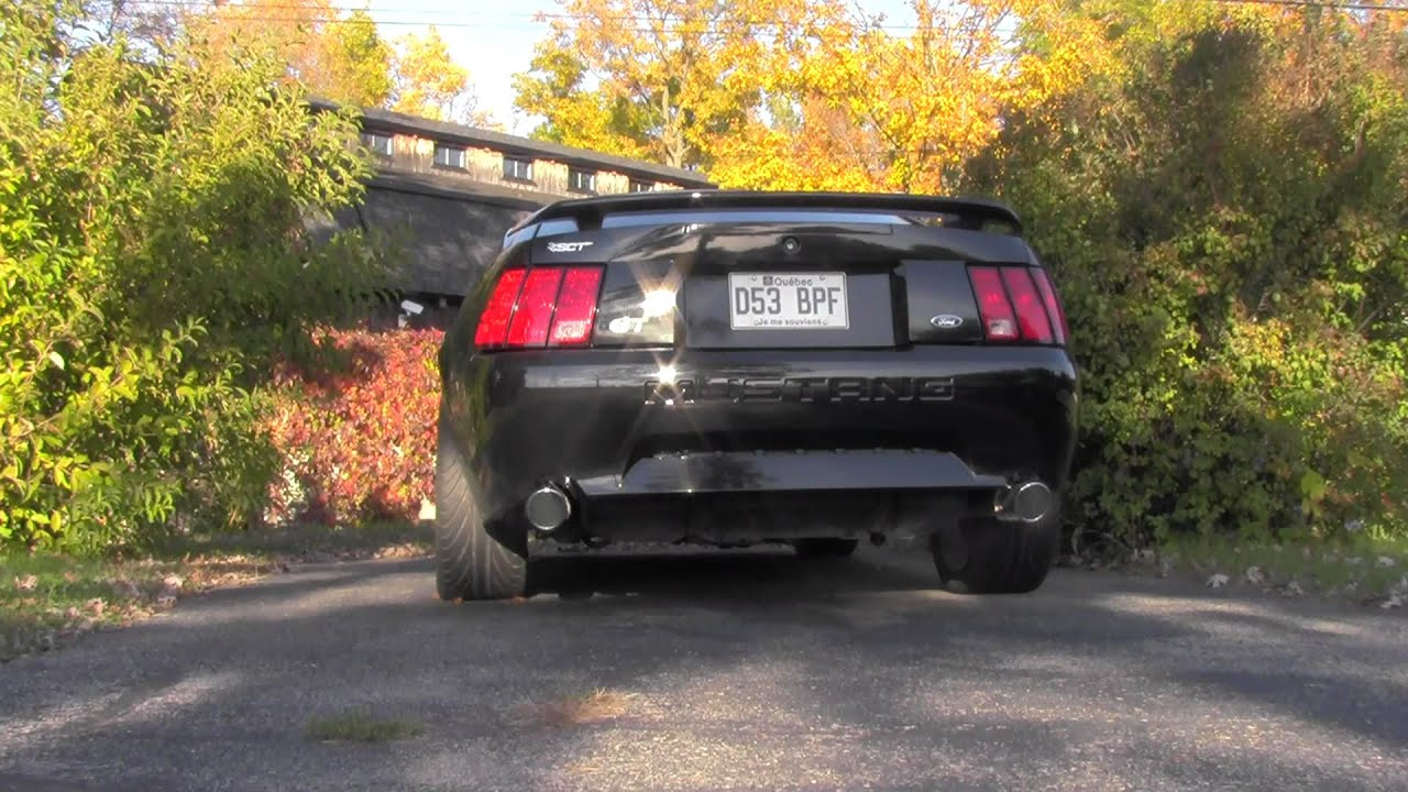Mustang Gt 2002 Borla Stinger Exhaust Youtube