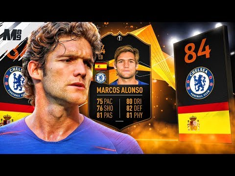 FIFA 19 UEL LIVE ALONSO REVIEW | 84 UEL LIVE ALONSO PLAYER REVIEW | FIFA 19 ULTIMATE TEAM