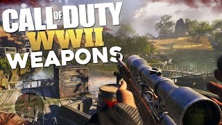 Call of Duty: WWII Weapons (Speculation)