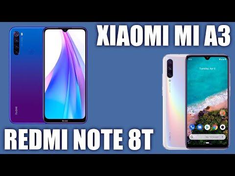 Redmi Note 8T Vs Xiaomi Mi A3. 🤷♂️ Сравним? Кого выберете вы?
