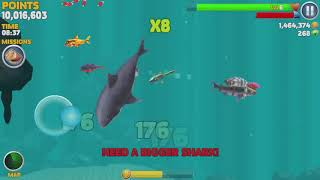 Game Android #1106 Hungry Shark Evolution Tiger Shark Android Gameplay