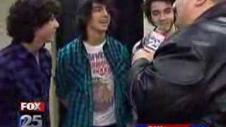 Jonas Brothers Fox Boston interview